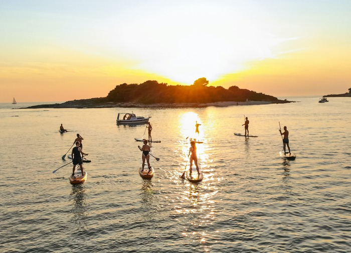Metta Float SUP Pula - SUP Sunset Tour