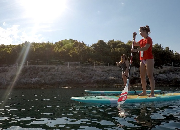 Metta Float SUP Pula - SUP Morning Private Tour